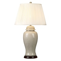 Настольная лампа Elstead Ivory Crackle Large IVORY CRA LG/TL